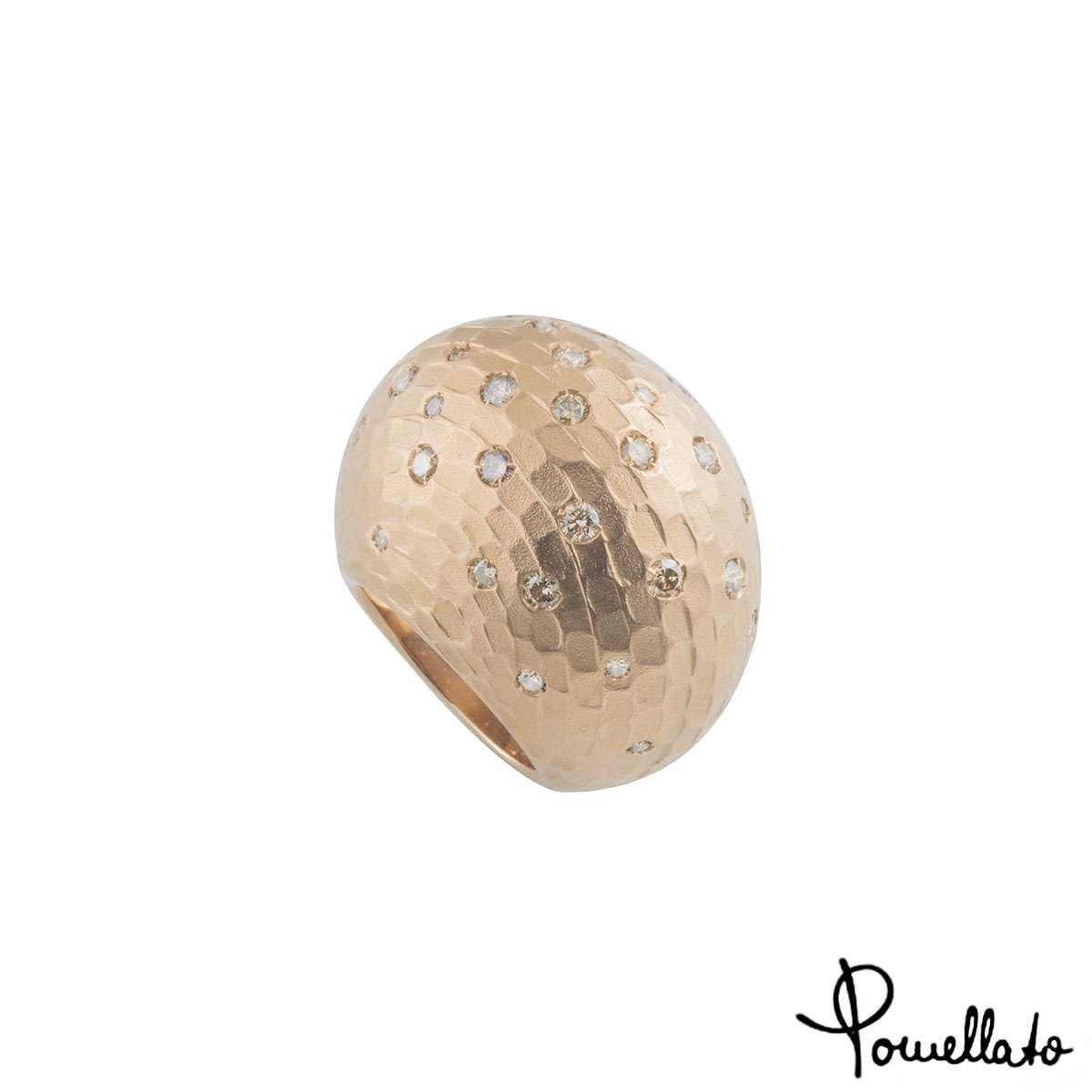 Pomellato Rose Gold DiamondDuna Ring